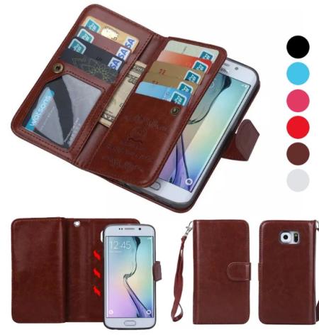 Samsung Galaxy S6 - LEMANS Stilrena Plånboksfodral
