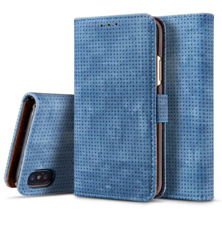 Plånboksfodral i Retrodesign från LEMAN till iPhone XR