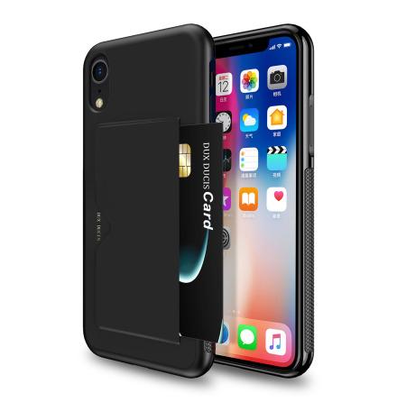 DUX DUCIS - Stilrent Skal med Kortfack -iPhone XR