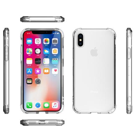 Tunt och Skyddande Silikonskal för iPhone XR
