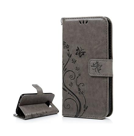 Elegant Plånboksfodral BUTTERFLY till Samsung Galaxy S7 Edge