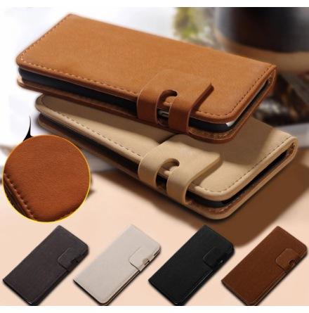 Stilrent Plånboksfodral i Mockadesign till iPhone 6/6S