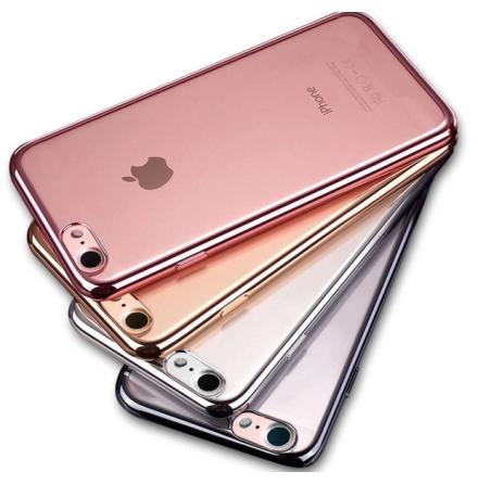 iPhone 7 - Stilrent Silikonskal från LEMAN