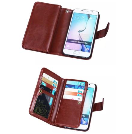 Elegant Plånboksfodral i LÄDER för Samsung Note 4 från HAISSKY