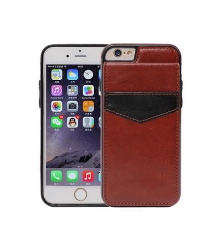 iPhone 7 - Stilrent skal med Plånbok/Kortfack