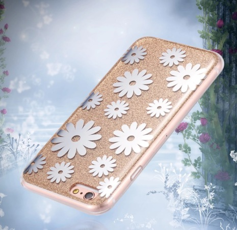 iPhone 6/6S Elegant Crystalflower-skal från FLOVEME ORIGINAL