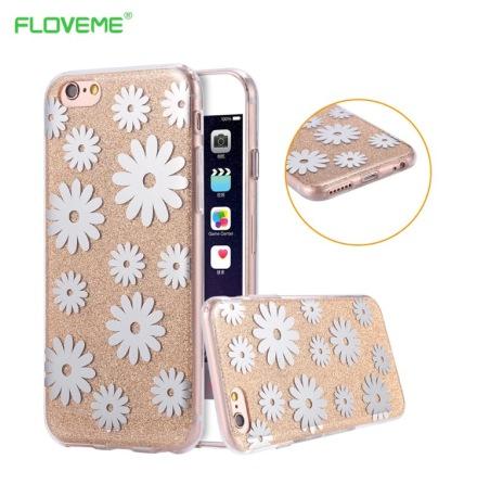 iPhone 6/6S Elegant Crystalflower-skal från FLOVEME