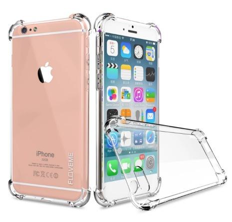 Stilrent silikonskal med extra tjocka hörn för iPhone 6/6s