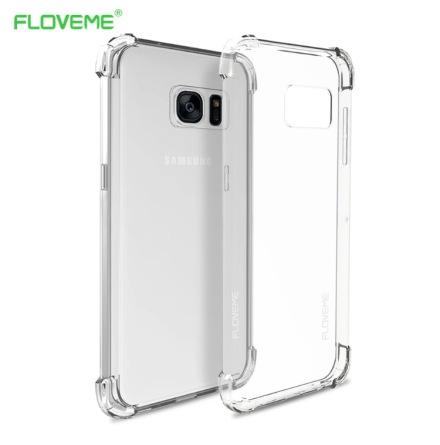 Stilrent silikonskal med extra tjocka hörn för Galaxy S7