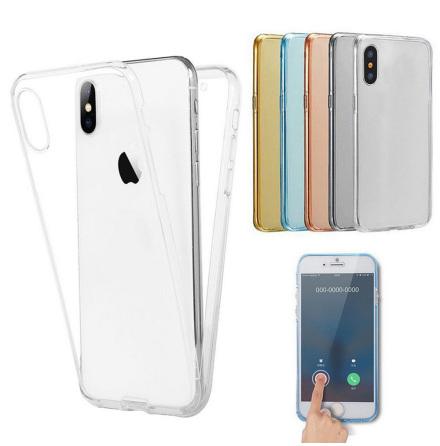 Crystal-Fodral med Touchsensorer (Dubbelsidigt) iPhone X/XS