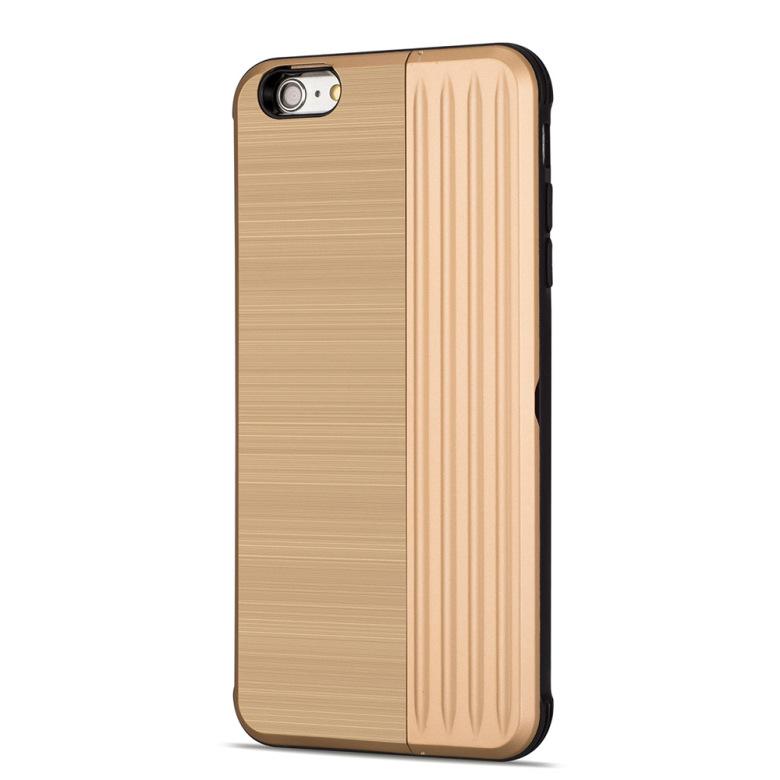 Klassiskt Skal med korthållare från LEMAN - iPhone 6 6S Plus - mobilrex 02ba487f9ade7
