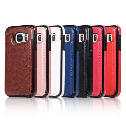 Samsung Galaxy S7 - NKOBEE Läderskal med Plånbok/Kortfack