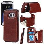 Samsung Galaxy S7 Edge - NKOBEE Läderskal med Plånbok/Kortfack