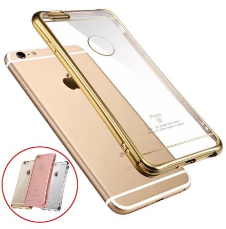 Stilrent silikonskal med extra tjock kant för iPhone 6/6s Plus