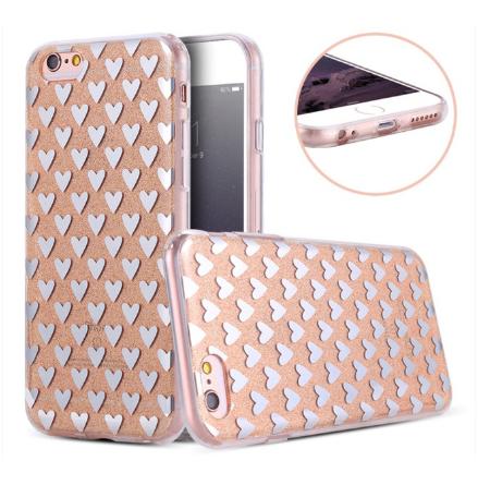 iPhone 6/6S  Elegant Crystalheart-skal från FLOVEME