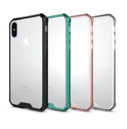 iPhone XR - Stilrent Hybrid-Skal från LEMAN