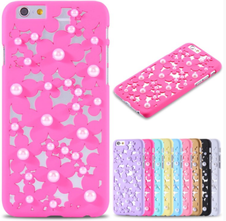 IPHONE 6 /6s FLOVEME LUXURY Flower Pearl skal