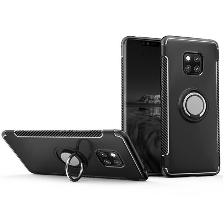 Artikelbild  Huawei Mate 20 PRO - HYBRID-Skal med Ringhållare från FLOVEME 470066f800d4a
