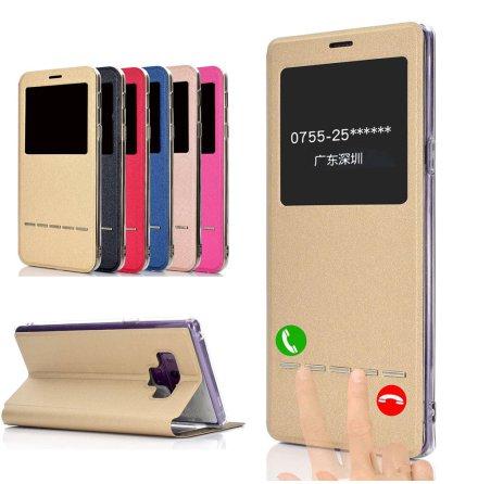 Smartfodral med Fönster & Svarsfunktion - Samsung Galaxy Note 9