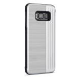 Klassiskt Skal med korthållare från LEMAN - Samsung Galaxy S8