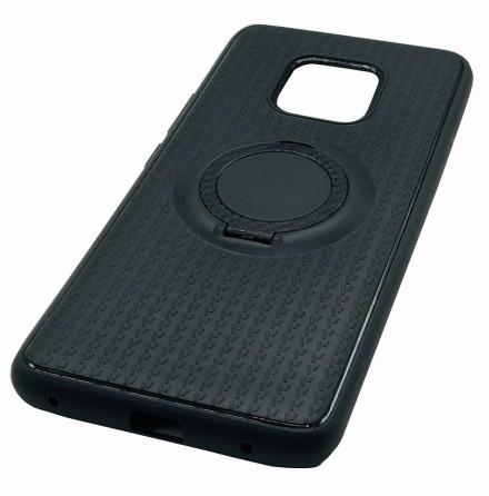 Skyddsskal med Ringhållare i Carbondesign - Huawei Mate 20 Pro