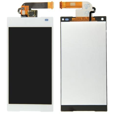 Sony Xperia Z5 Compact - LCD-Skärm (Display) VIT (OEM-Original-LCD)
