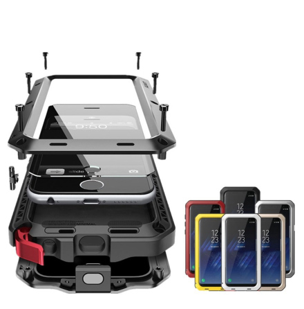 HEAVY DUTY-fodral (Stryktålig) Aluminum för Samsung Galaxy S9