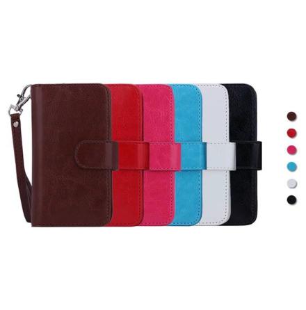 Dubbelt Plånboksfodral för iPhone XR från LEMAN