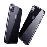 iPhone XS Max - Smart Skyddsskal i Silikon från FLOVEME