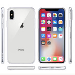 iPhone X/XS - Smart Skyddsskal i Silikon från FLOVEME