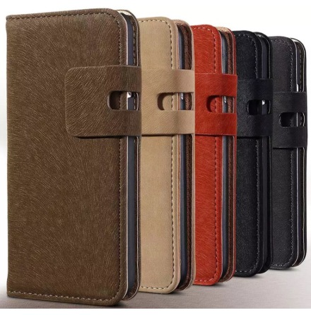Stilrent Plånboksfodral i Mockadesign till iPhone 7 Plus