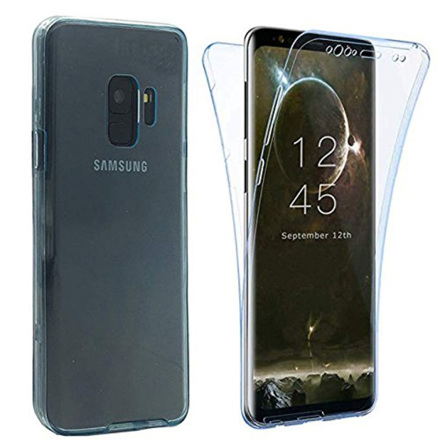 Samsung Galaxy A6 2018 Dubbelsidigt silikonfodral TOUCHFUNKTION