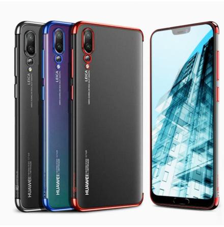 Effektfullt Skal av mjuk Silikon till Huawei P20