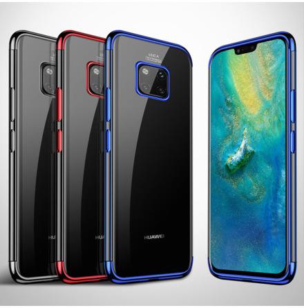 Effektfullt Skal av mjuk Silikon till Huawei Mate 20 Pro