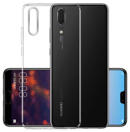 Huawei P20 - Smart Skyddsskal i Silikon från FLOVEME