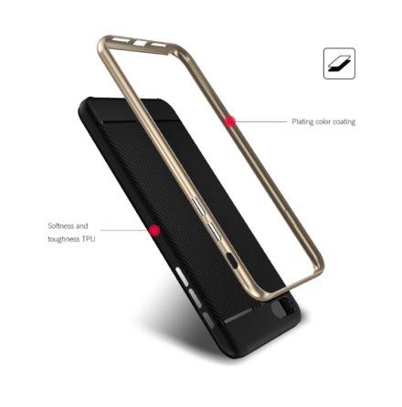 NANO-HYBRID-Stötdämpande skal för iPhone 7 PLUS från FLOVEME