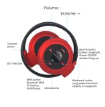 TTLIFE Wireless Sport Headset med Bluetooth