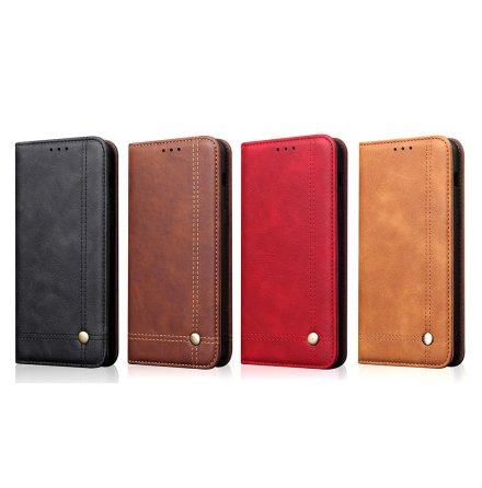 LEMAN Stilrent Plånboksfodral för Huawei Mate 20 Pro