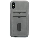 NYHET! Skal med Korthållare för iPhone X/XS (Vintage-Mark)