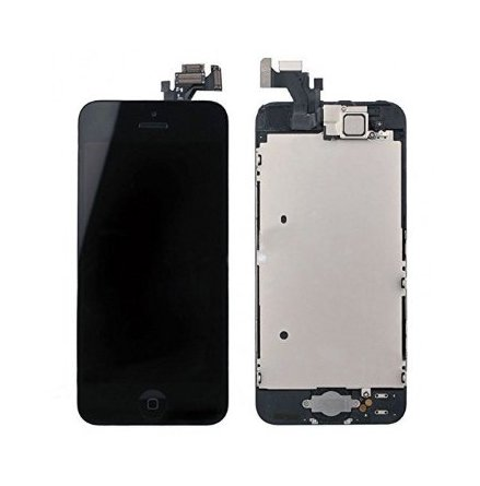 iPhone 5 - Skärm LCD Display Komplett med smådelar (SVART)