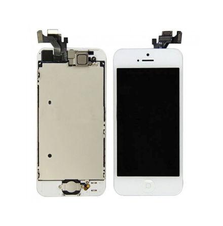 iPhone 5 - Skärm LCD Display Komplett med smådelar (VIT)