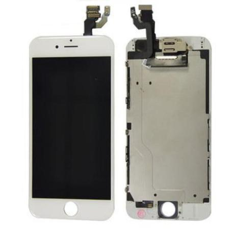 iPhone 6 - Skärm LCD Display Komplett med smådelar (VIT)
