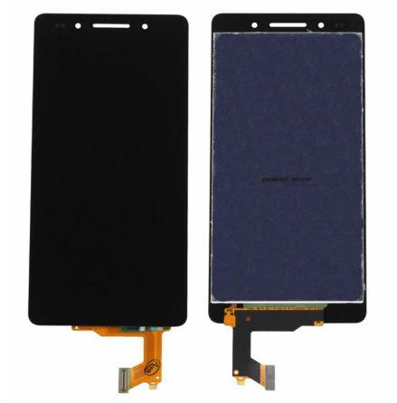 Huawei Honor 7 - LCD Display Skärm SVART