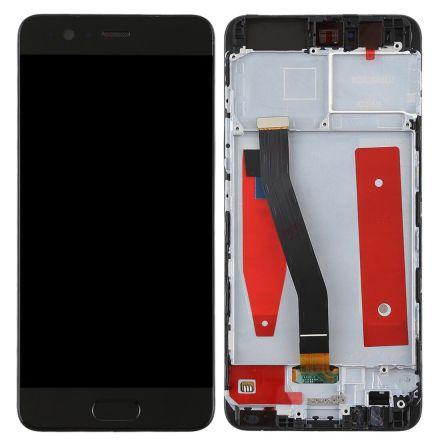Huawei P10 - Komplett LCD-Skärm-Display (inklusive Ram) SVART