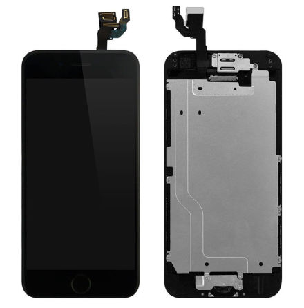iPhone 6 Plus- Skärm LCD Display Komplett med smådelar (SVART)