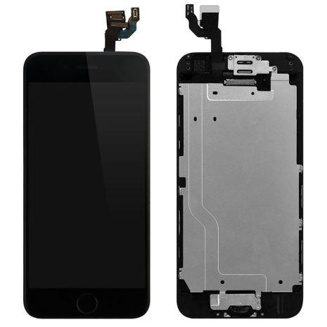 iPhone 6plus- Skärm LCD Display Komplett med smådelar (SVART)