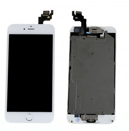 iPhone 6 Plus- Skärm LCD Display Komplett med smådelar (VIT)