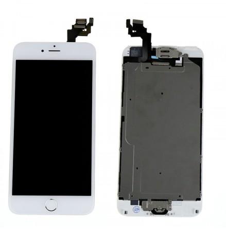 iPhone 6 Plus- Skärm LCD Display Komplett med smådelar (VIT)
