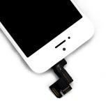 iPhone 5S - Skärm LCD Display Komplett med smådelar (VIT)