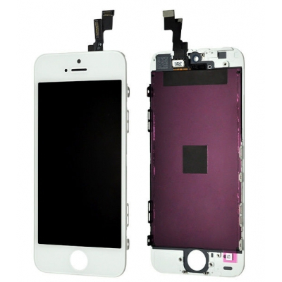 iPhone 5S - LCD Display Skärm OEM (Original-LCD) VIT